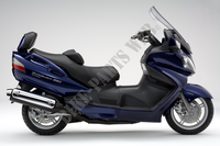 * PHOTOGRAPHIE DE COULEUR AN650AK8 1 of 2 * voor Suzuki BURGMAN 650 2006
